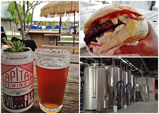 capital brewing co, brodburger, canberra, dairy road, brewery tours, canberras breweries, ACT,