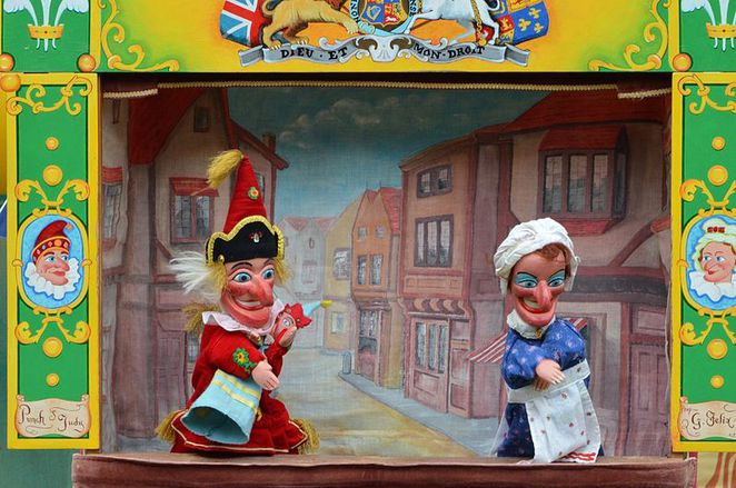 carnivalesque port adelaide punch and judy february 14