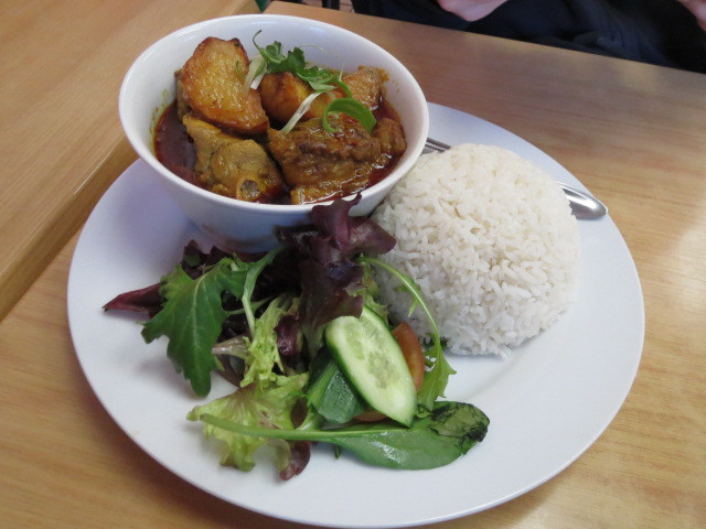 Chef Lai Noodle Cafe, Curry Chicken Rice, Adelaide