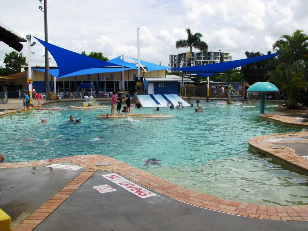 chermside swimming pool water park brisbane