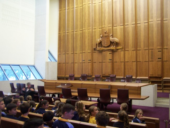 Court Room 2, High Court of Australia