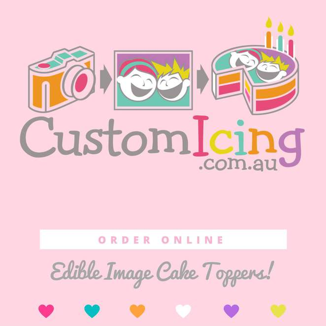 Custom Icing Edible Cake Topper Images