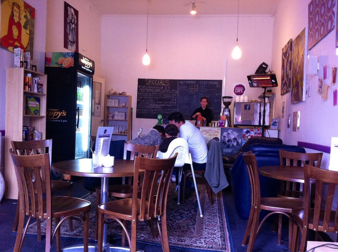 Experience Cafe Hutt Street breakfast brunch coffee venue playgroup children's play area child friendly volunteer work experience migrants refugees fairtrade organic not for profit local produce Uniting Church CitySoul Adelaide