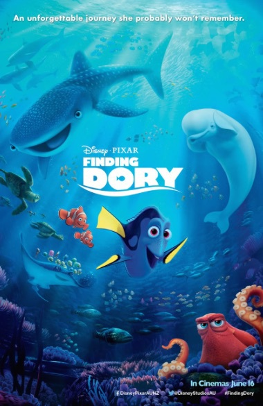 Finding Dory. Courtesy of Disney.
