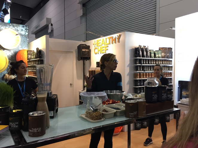 Fitness and health expo Melbourne, Fitness and health expo 2015, Healthy Chef, Teresa Cutter