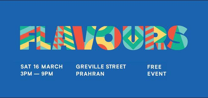 flavours festival 2019, free event, what's on stonnington, stonnington city council, prahran, greville street, community event, fun things to do, celebrating cultue, traditions worldwide, live music, performances, cooking demonstrations, food and craft stalls