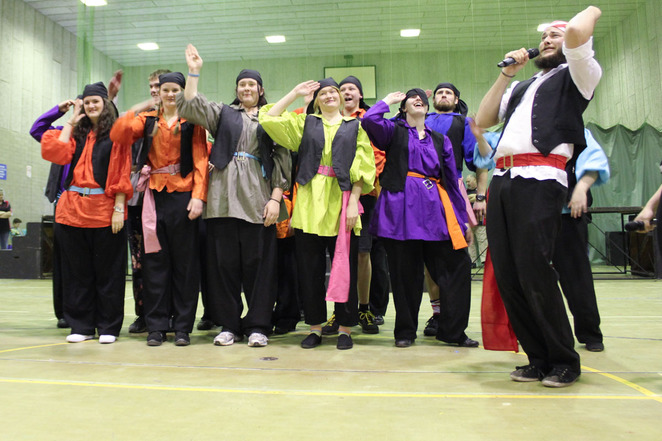 Gangshow, Adelaide, Scouts, Guides, Family entertainment, variety show, signing, dancing