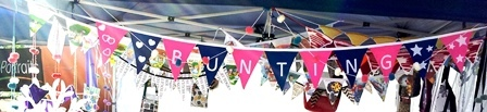 handmade expo, market, vintage, Ipswich, second hand, home made, bunting