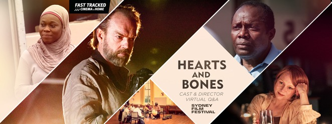 Hearts And Bones: Virtual Q&A with Hugo Weaving 2020, free q&a with hugo weaving online 2020, community event, fun things to do, actor interview, hugo weaving interview, madman films, online free event, sydney film festival, madman entertainment nz, hugo weaving @random scribblings, the turning, hearts and bones, ghosthunter, entertainment, performing arts, cinema, movie review, film review, family fun, fun things to do