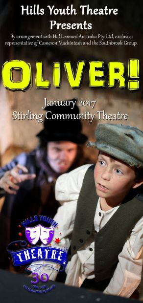 hills youth theatre adelaide stirling oliver musical