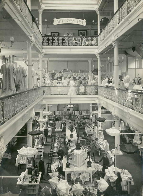 Interior, George's Department Store, Collins Street, Melbourne