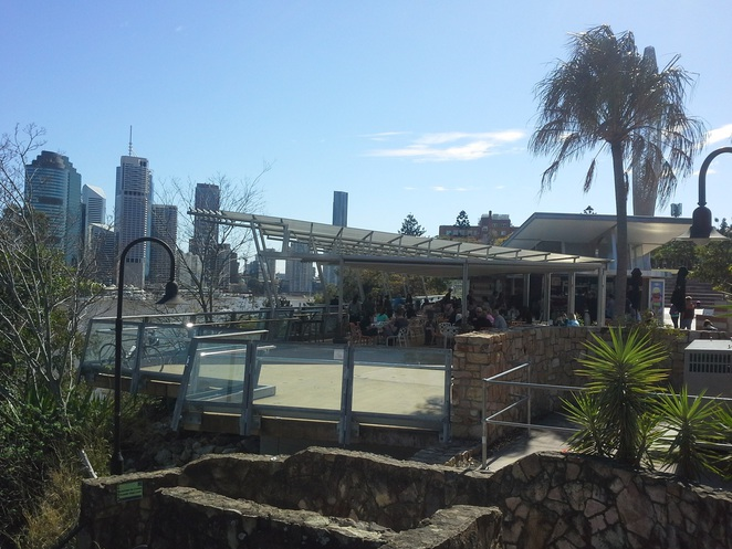 Cliffs cafe Kangaroo point