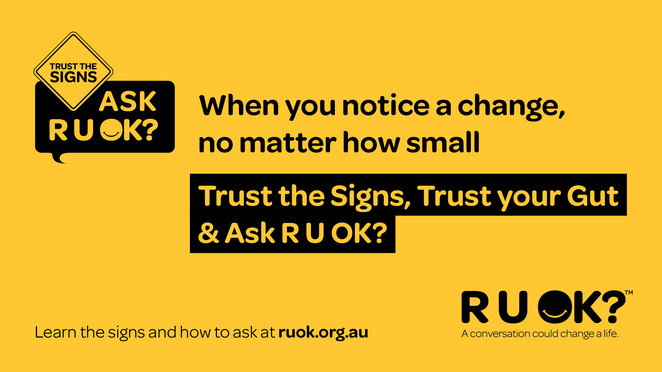 K's for r u ok? 2020, community event, fun things to do, fun run, charity, fundraiser, mental health, run, walk, jog, complete your k's, build connections