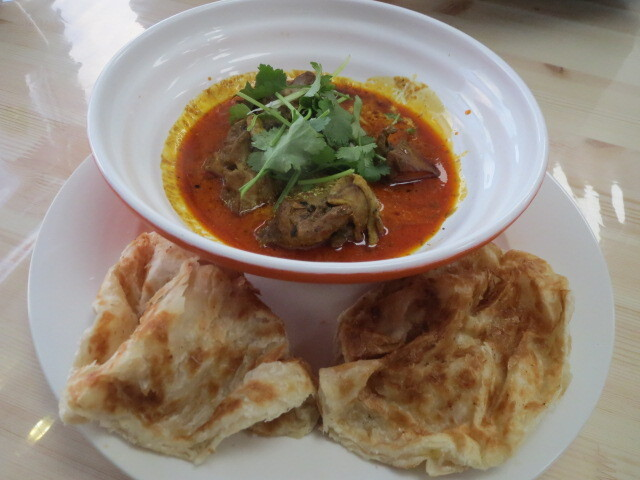 Lai's Pantry, Roti with Chicken Curry, Adelaide