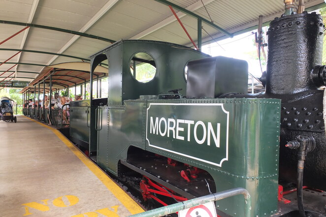 Moreton the Ginger Train's 120th Birthday, The Ginger Factory, everybody is invited, steam train rides since 1993, Win a Ride with the Train Driver, children four and older, Moreton's Birthday Week, Moreton's Station, table tennis, giant Jenga, twister, puzzles, Moreton-themed colouring sheets, Moreton's Birthday Party, themed balloons, Ginger Boy live appearance, birthday cake, Moreton keyring, Moreton balloon, Gruffalo, FREE App, rainforest, get on track, mega-sized milestone, totally galactic, toot-toot