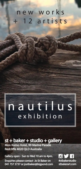 Nautilus, Exhibition, Gallery, Opening, Redcliffe, Moreton Bay, Art, paintings, prints, photographs, sculpture