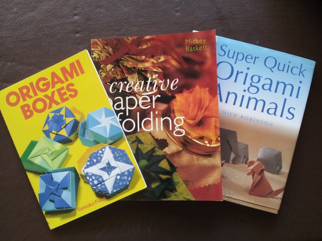 origami books classes paper folding