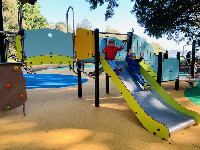 parsley bay, sydney playground, paradise, best playgrounds in sydney, fun for kids
