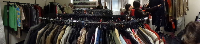 pre-loved clothing, boutique sale