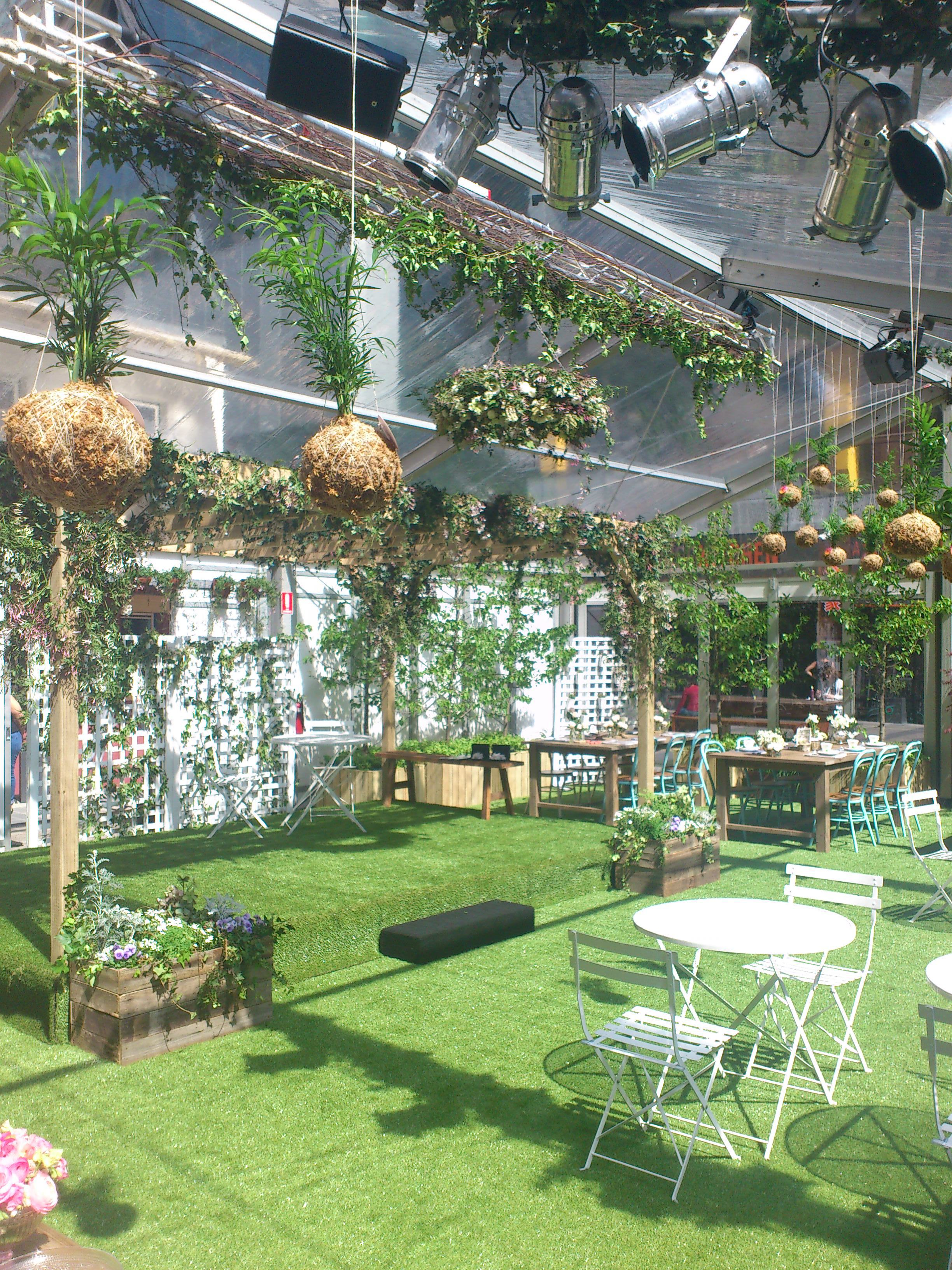 Qv spring glass house events high tea food cafe beauty fashion