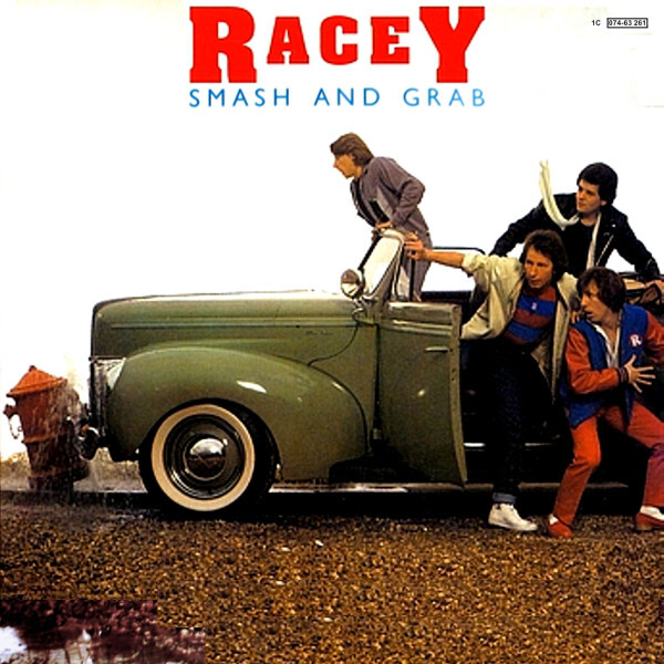 racey, smash and grab, album, cover
