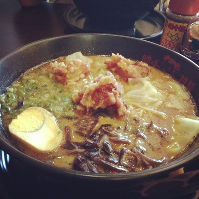 ramen, noodles, chicken, food, japanese, dining, lunch