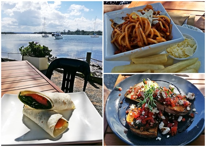 rivermark cafe, port macquarie, NSW, water views, hastings river, water views, lunch, breakfast,
