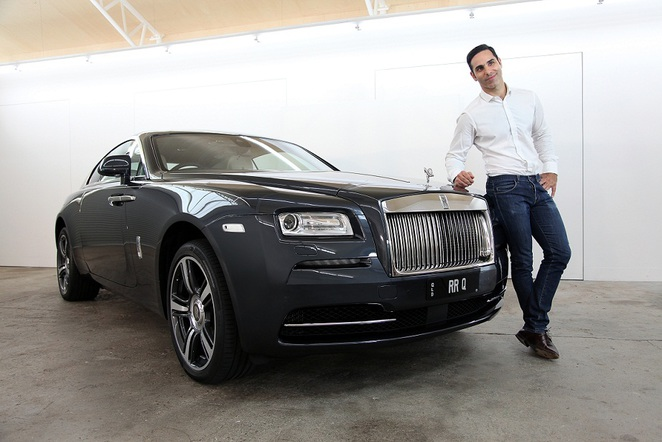 Rolls-Royce Motor Cars collaborate with artist Michael Zavros at MAF
