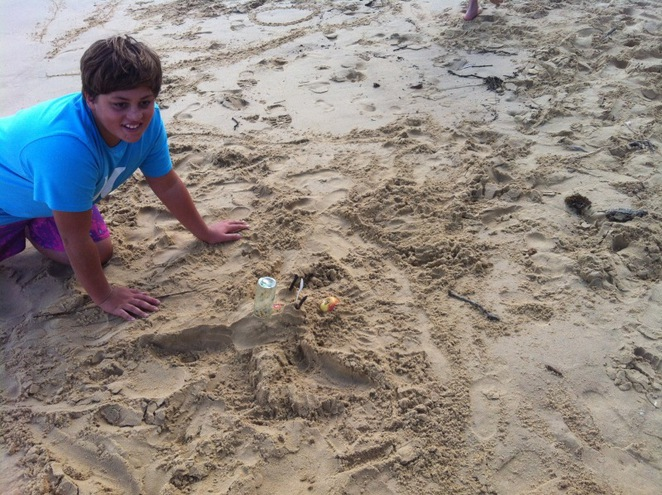 Sculptures by the sea, kids activities, beach, family fun