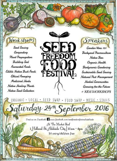 Seed Freedom Food Festival 2016, The Market on Holland, Neville Bonney, Ethical, Seed Swap, Food Swap, Organic, Sustainable, Neville Bonney