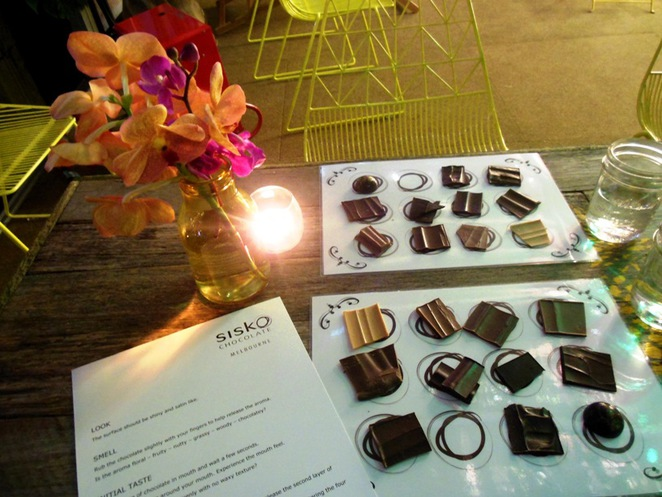 sisko chocolate melbourne tasting
