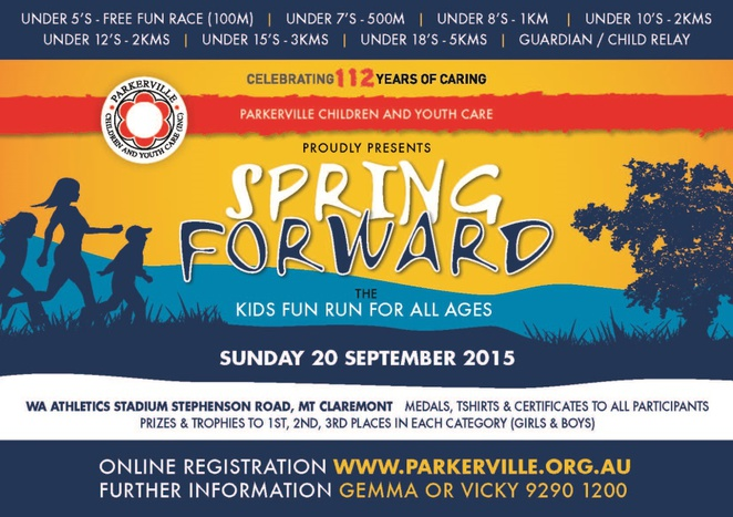 Spring Forward Fundraiser Parkerville Children and Youth Care
