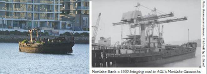 SS mortlake bank homebush bay shipwrecks