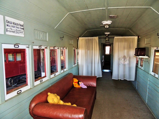 steamtown heritage rail centre, steamtown railway museum, railway carriage, peterborough, peterborough attractions, steam engine, railway history, south australian railways, locomotive, mothers and babies health association