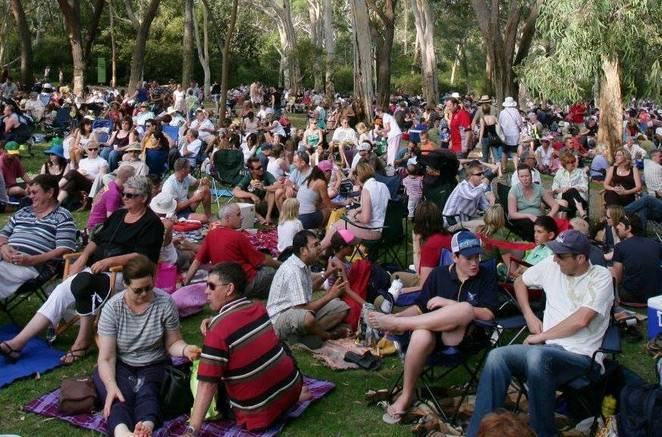 Summer Sounds at the ANBG