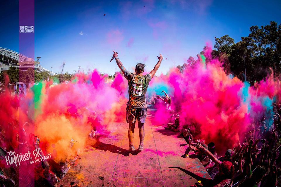 The Color Run was inspired by several awesome events, including Disney's World of Color, Paint Parties, Mud Runs, and festivals throughout the world such as Holi. We wanted to create a less stressful, untimed running environment that was more about health and happiness than competition.