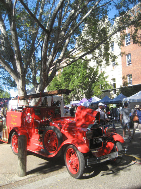 Teneriffe during the annual festival