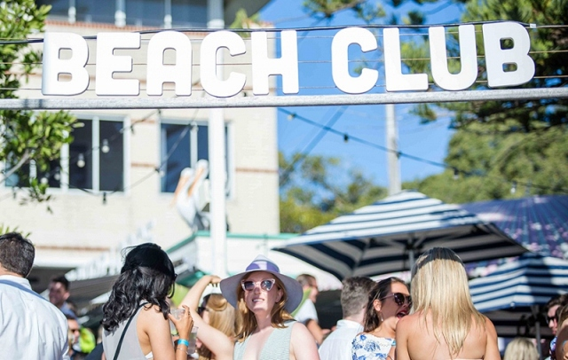 The Beach Club at Manly by Watson's Bay Boutique Hotel, Beach Club at Manly Australian Open of Surfing, Watson's Bay Boutique Hotel Beach Club Pop-Up Bar image by Watson's Bay Boutique Hotel