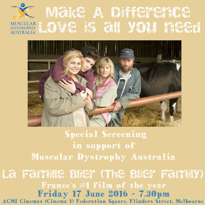 the belier family, muscular dystrophy australia fundraiser, foreign film, movie review, louane emera, acmi, australian centre for the moving image, federation square, actors, subtitles