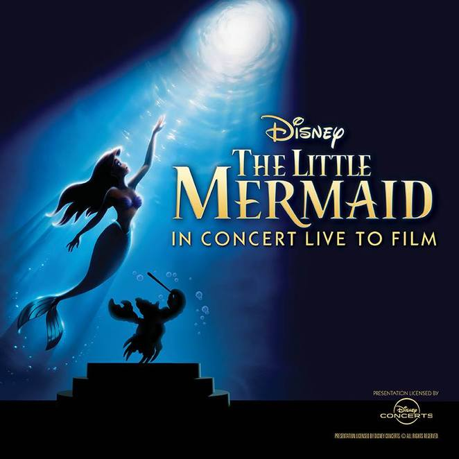 The Little Mermaid in Concert Live To Film WASO