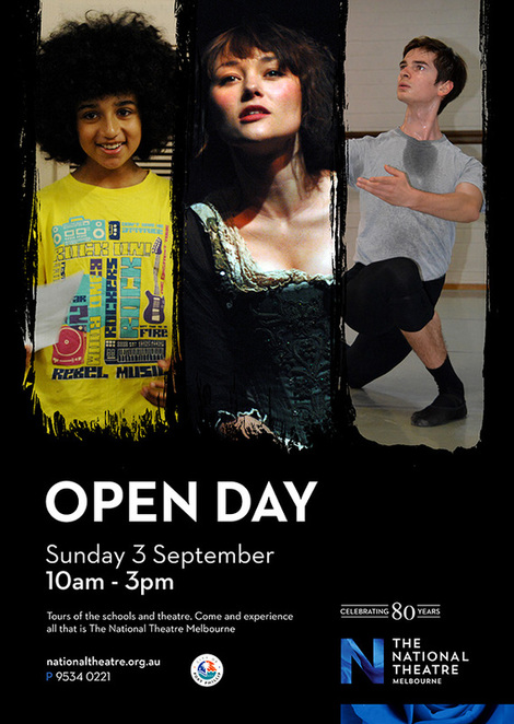 the national theatre open day, actors, ballet courses, drama courses, performing arts, fun things to do, community event, city of port phillip, ballet shows, nightlife, entertainment, ballet costumes exhibition, cultural event