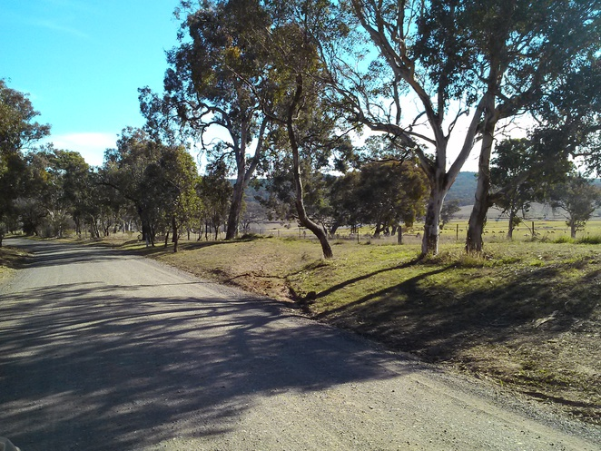 the road to Molonglo Gorge, Queanbeyan
