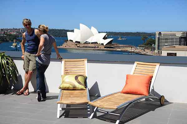 The Rocks, Sydney, Historical, Sydney Harbour YHA, rooftop