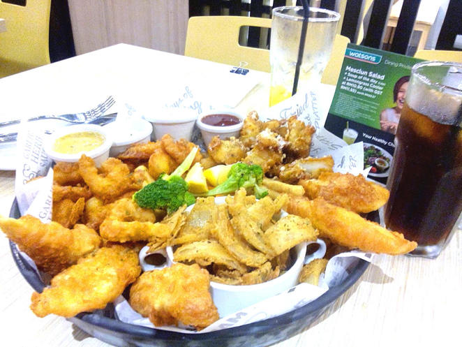 The seafood in Malaysia is impressive and is served with a range of flavoursome sauces.