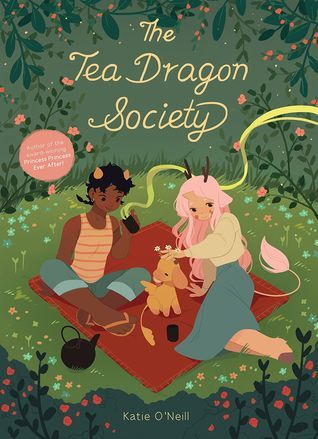 The Tea Dragon Society, comics, comics about dragons, comics for girls, dragon comics, Katie O'Neill, Princess Ever After