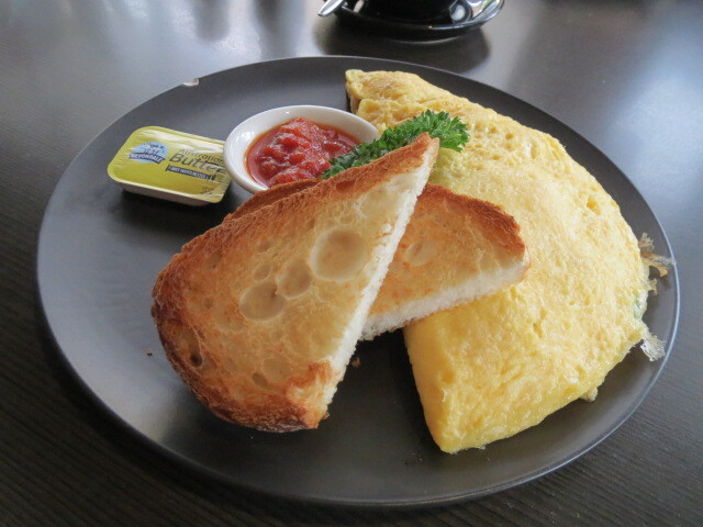 The Upside on Prospect, 3 Egg Omelette, Adelaide
