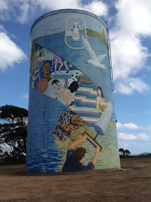 Water Tower Mural, George Town