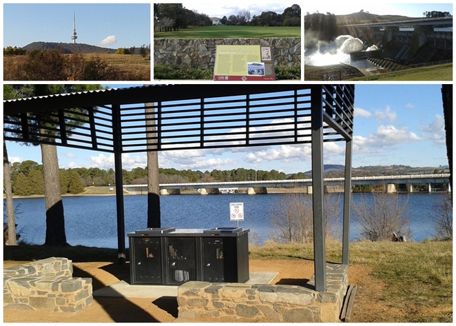 yarramundi reach, telstra tower, lake burley griffin circuit, western loop, canberra, BBQ areas, walks, bike rides,