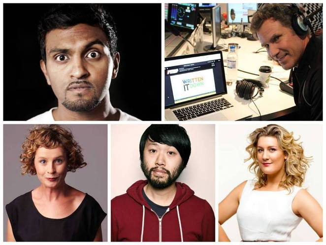 after dinner mint comedy variety show, bella union carlton, bella union, lords of luxury, anne edmonds, lawrence leung, virginia gay, write it down live, legally brown, nazeem hussain, winners and losers,
