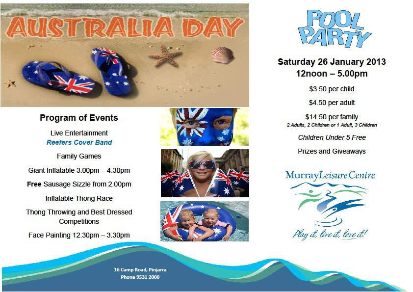 Australia Day - Perth 2013 - Perth - by Simone Lee